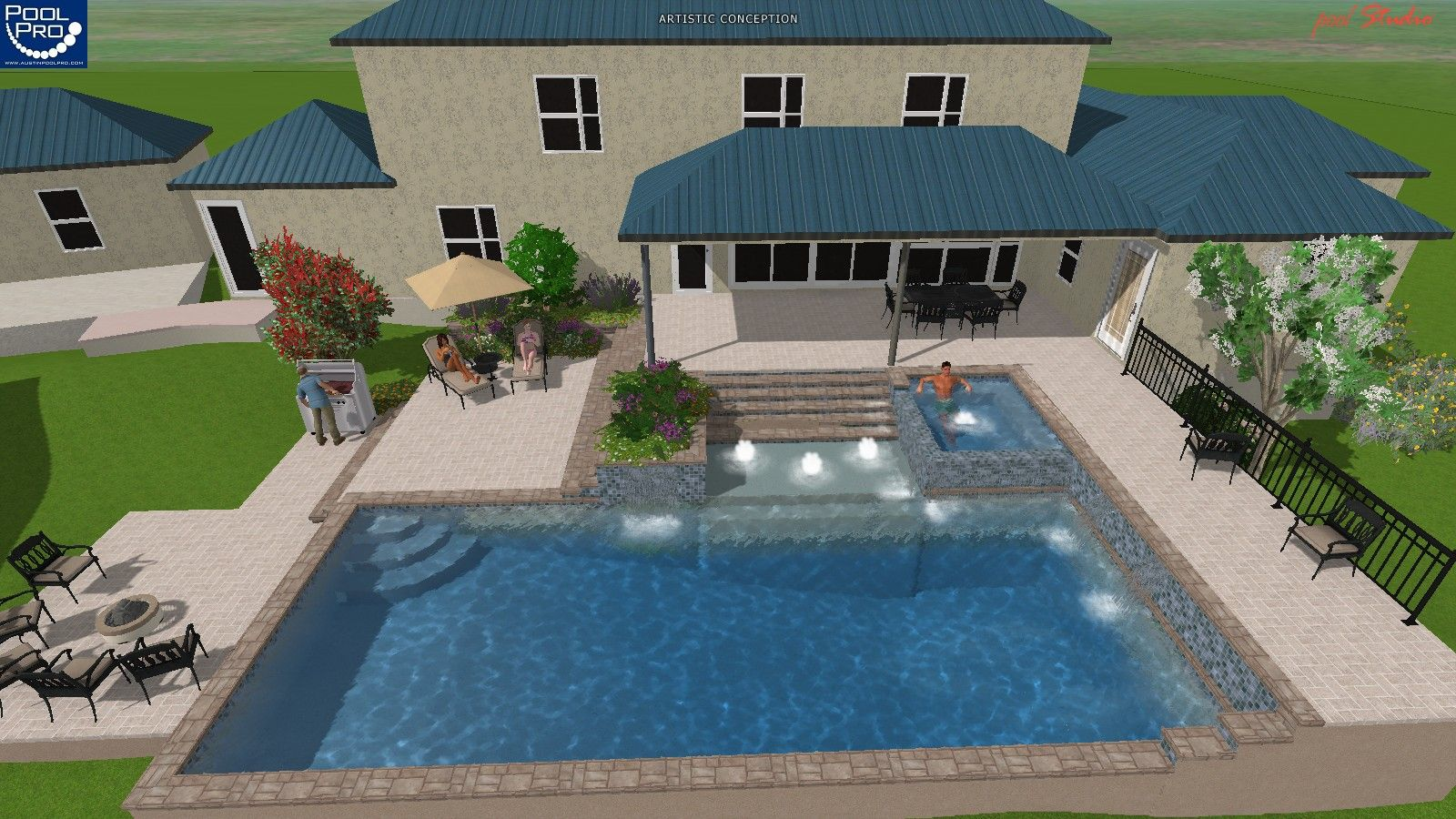 Swimming Pool Geothermal"